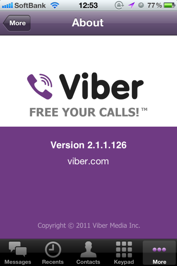 Viber 2.1.1