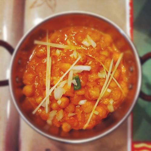 ひよこ豆のカレー チャムナマサラ